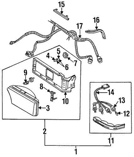 Bulbs Chassis Scat on 76 ford f 250 wiring diagram