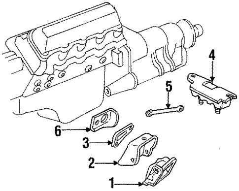 Gmc Yukon Engine Mount Diagram