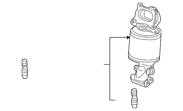 Converter, Rear Primary