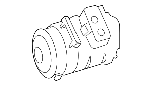 Compressor Assembly - Mercedes-Benz (002-230-31-11)