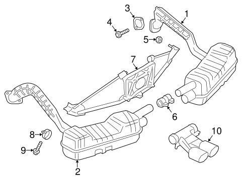 Exhaust Components For 2015 Porsche Cayman