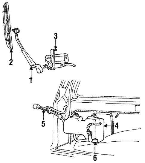 wiper components for 1993 ford explorer