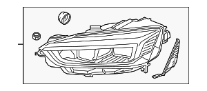 Headlamp Assembly - Audi (8W6-941-774-F)