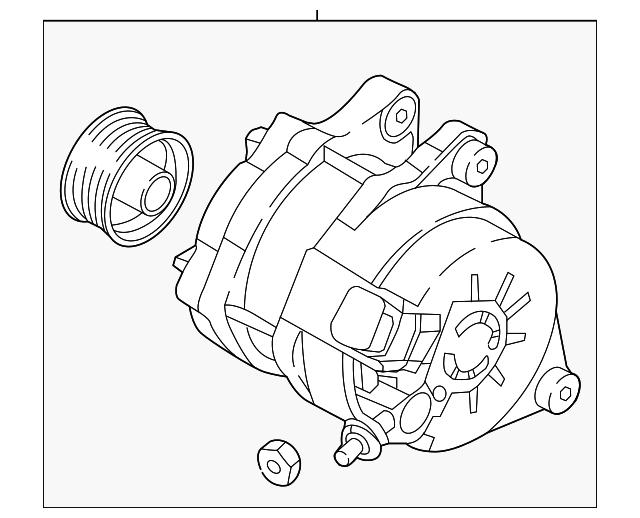 2016 2019 Mazda Alternator P31h 18 300b