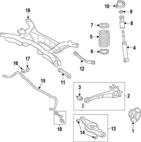rear suspension for 2011 mitsubishi outlander sport es auto parts 2011 Ford Fiesta Engine Diagram rear suspension rear suspension for 2011 mitsubishi outlander sport oem mitsubishi parts 1