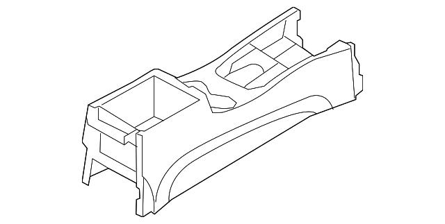 Genuine Hyundai 84610-0W020-WK Floor Console Assembly