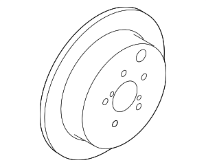 Disc Brake Rotor - Subaru (26700FL000)