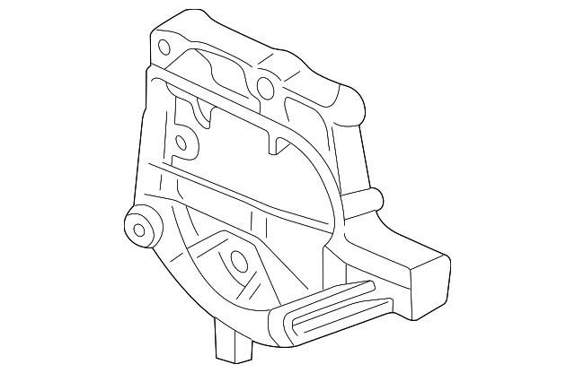 1996 2000 Honda Bracket Compressor 38930 P30 000