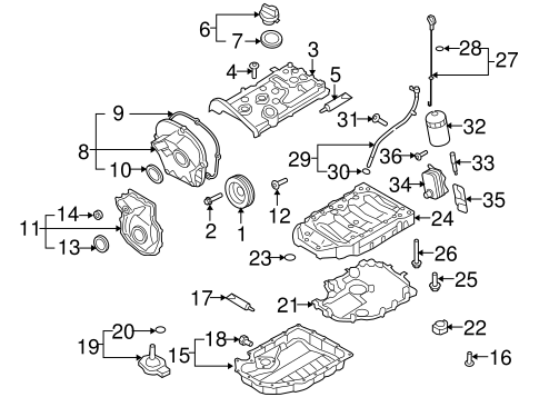 Engine Parts for 2011 Volkswagen GTI | VW Parts Vortex | Gti Engine Diagram S |  | VW Parts Vortex