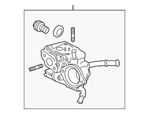 Case, Thermostat - Honda (19320-R1A-A50)