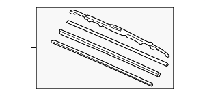 Blade, Windshield Wiper (475MM) - Honda (76630-S84-A01)