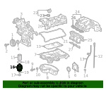 Engine Oil Filter Housing - Toyota (15620-36020)