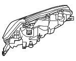 Headlamp Assembly - Nissan (26060-9DJ0B)
