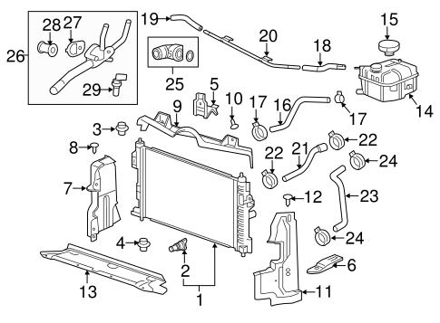 gm 3 1 engine water pump housing turbo and supercharged ... 1998 chevy malibu 3 1 engine diagram tensioner gm 3 1 wiring diagram