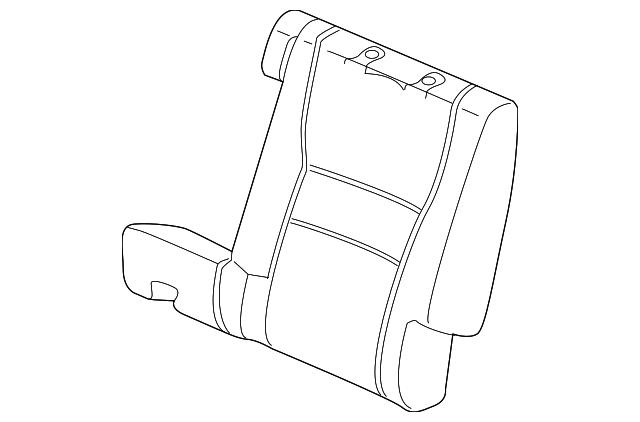 pad  l rear seat-back
