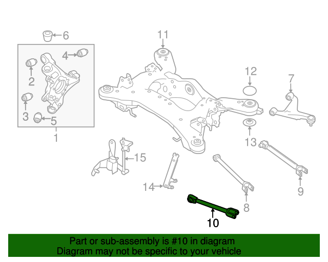 Details about  /Genuine Infiniti Lateral Arm 551A0-1BA0A