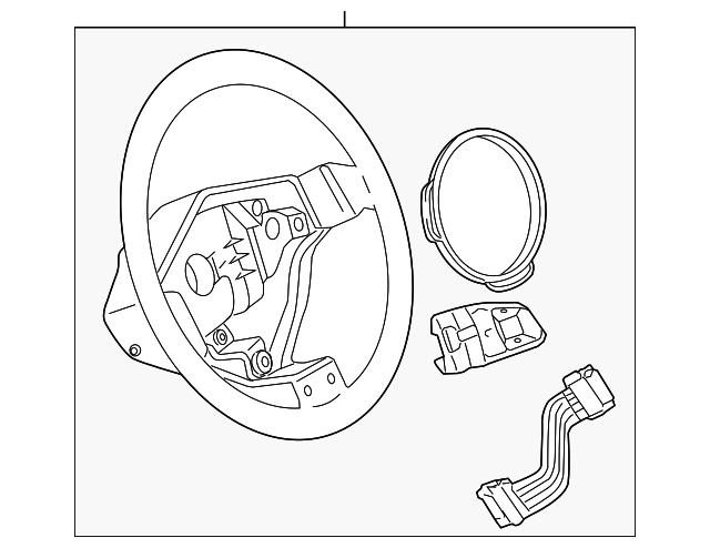 Steering Wheel Audi 8r0419091s1kt: Audi A3 Parts Diagram At Downselot.com