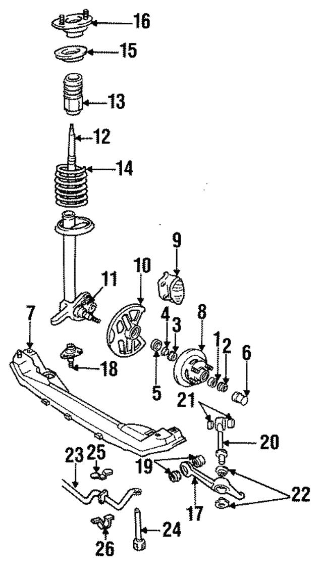 Volvo 740 745 760 780 940 960 Suspension Stabilizer Bar Link Brand NEW 9157725