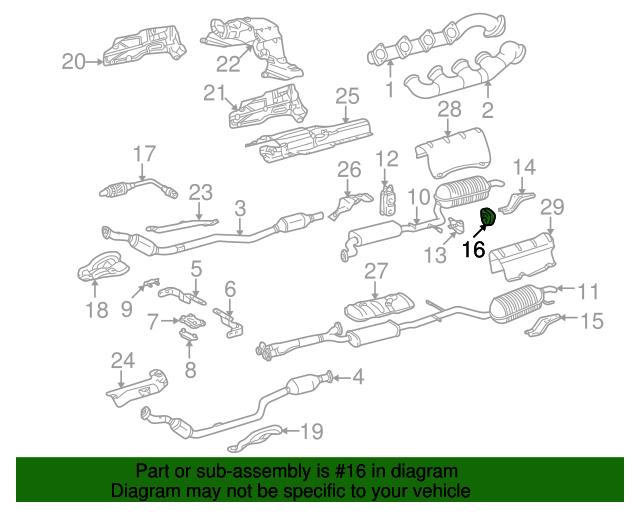 Muffler pipe insulator mercedes benz 220 492 02 44 for Mercedes benz part numbers list