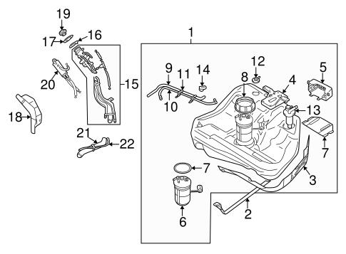Fuel System Components For 1999 Mitsubishi Galant Mitsubishiparts Com