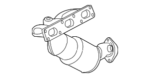 Exhaust Manifold - BMW (18-40-7-523-904)
