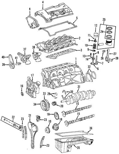 Oil pan for 1998 mercedes benz slk 230 mb direct parts for Mercedes benz slk 230 kompressor parts