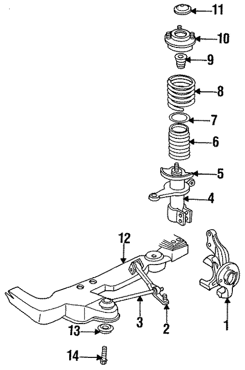 Suspension Components For 1996 Chrysler Concorde