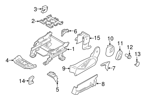 Body/Tracks & Components for 2016 Ford Transit Connect #2