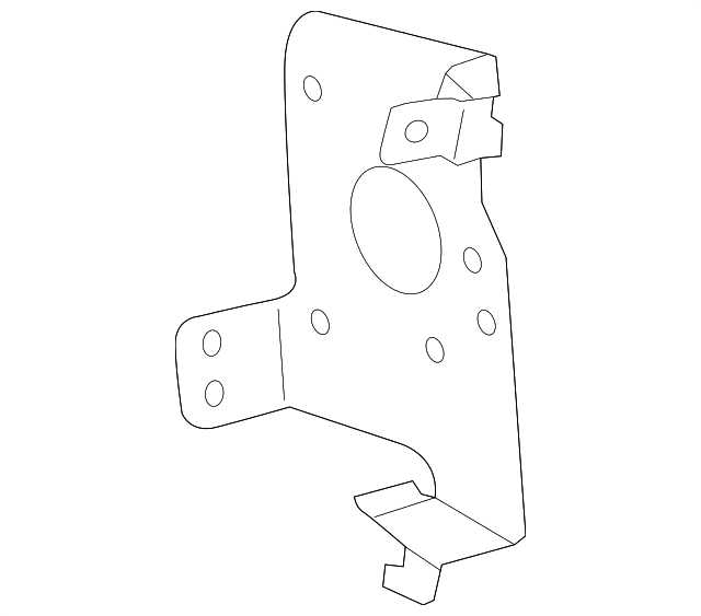 2004 fm cd mount bracket 86212