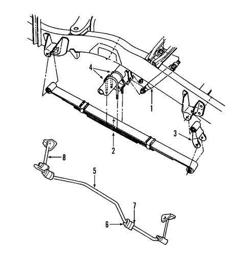 Bolt Kit For Dodge Dakota 97