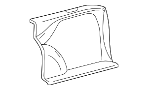 Cargo Trim Panel - Mercedes-Benz (210-690-30-25-9B57)