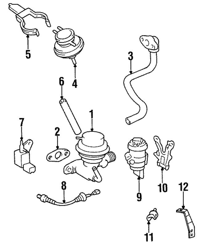 1995 Toyota Tercel Egr Diagram