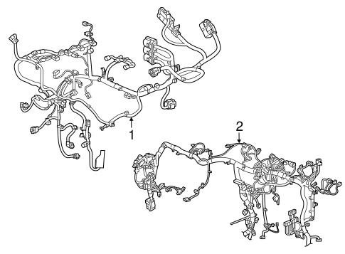 oem 2018 chevrolet traverse wiring harness parts. Black Bedroom Furniture Sets. Home Design Ideas