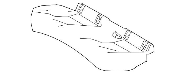 Toyota Genuine 71075-91606-11 Sear Cushion