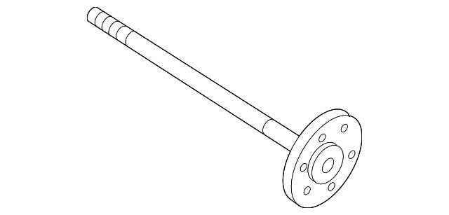 genuine gm shaft axl 22876130
