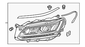 Headlamp Assembly - Volkswagen (561-941-773-A)