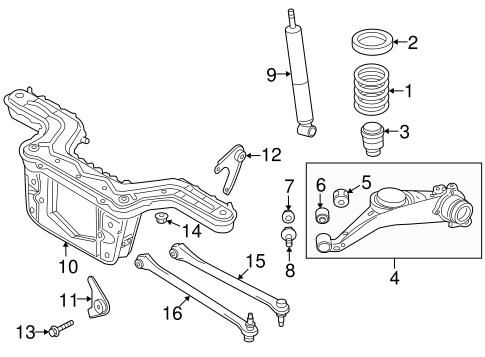 Mazda ZZD2-28-700 Shock Absorber