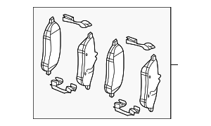 Brake Pads - Mercedes-Benz (007-420-92-20)