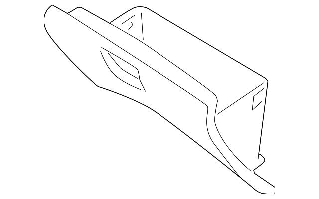 Genuine Hyundai 84510-4D050-KS Glove Box Assembly