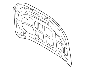 Hood - Ford (KB3Z-16612-A)