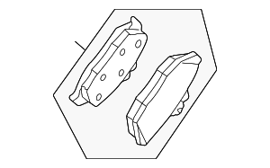 Brake Pads - Ford (8R3Z-2200-A)