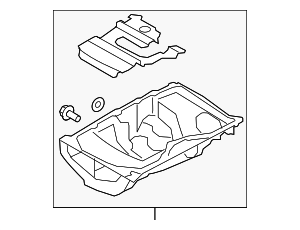 Oil Pan - Ford (1S7Z-6675-D)
