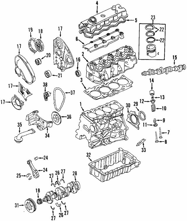 VW Volkswagen Engine Oil Pump GENUINE OEM NEW Beetle Golf Jetta Passat