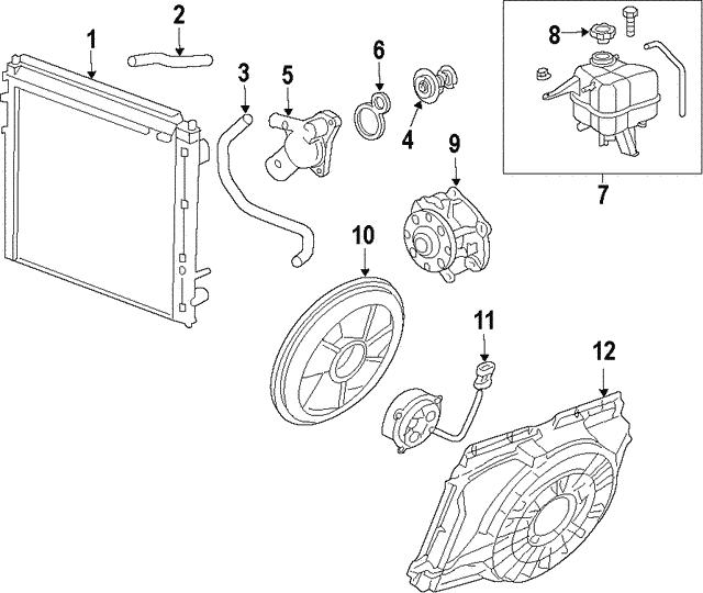 GM OEM-Engine Water Pump Gasket 12660159