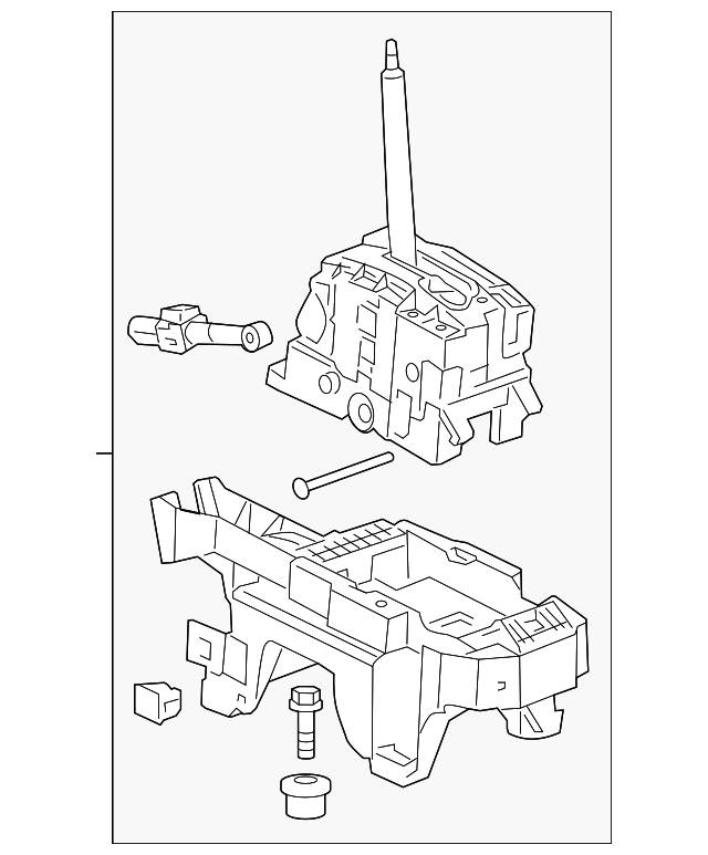 Genuine Gm Shifter Assembly 22966995