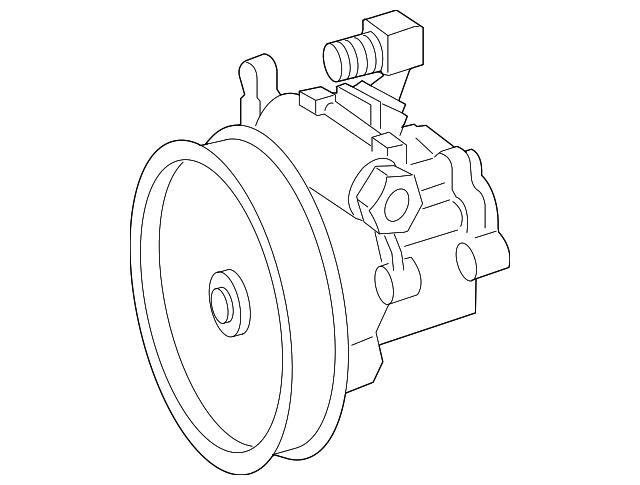Mercedes Benz Remanufactured Power Steering Pump 004 466 86 01 80