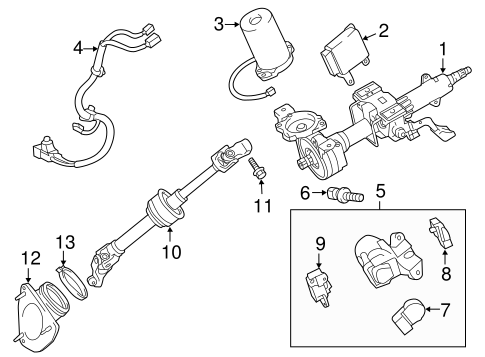 Ignition Lock For 2012 Toyota Camry