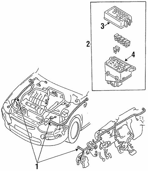 [DVZP_7254]   Wiring Harness for 1993 Mazda MX-3 | RealMazdaParts.com | Mazda Mx3 Engine Diagram |  | Real Mazda Parts