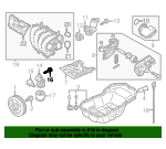 Oil Filter Housing Bolt - Mazda (9XF0-02-257L)