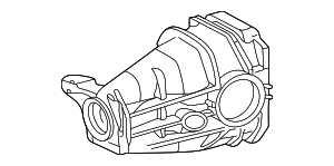 Axle Housing - Mercedes-Benz (124-351-05-05)